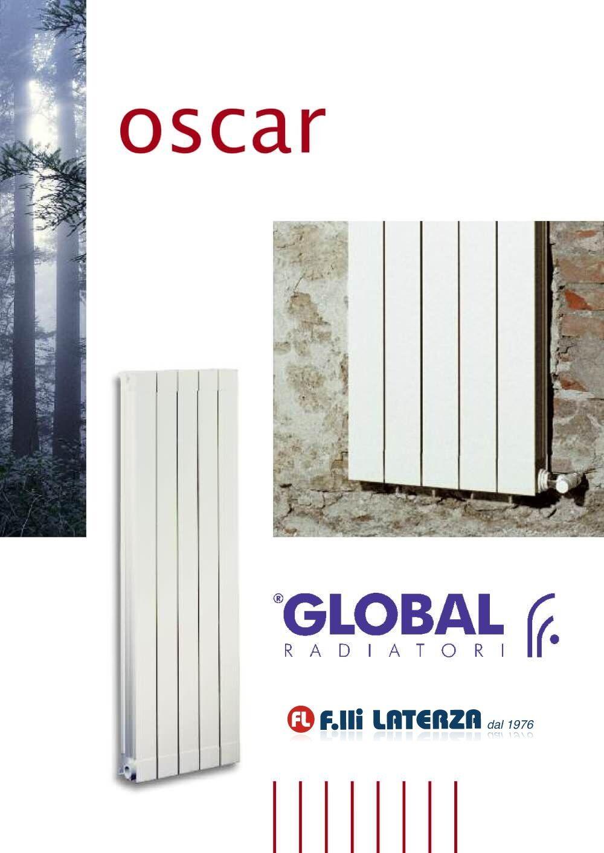 Radiatore global oscar int 1800 bianco da 02 elementi for Oscar utensili